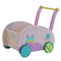 Gehen lernen leicht gemacht mit dem Lauflernwagen Katze von Moulin Roty. Jetzt online kaufen. Günstiger Versand!