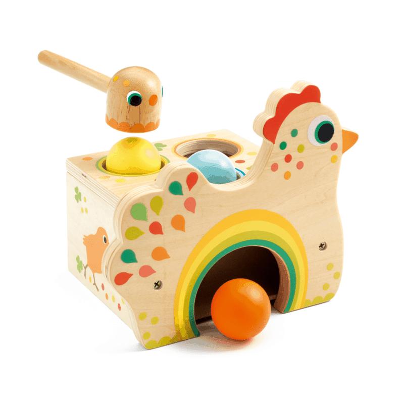 Außergewöhnliche Hämmerbänke und andere tolle Spielsachen für Kleinkinder online kaufen auf www.ShopWieMelly.at
