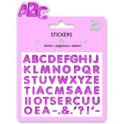 Buchstabensticker auf www.ShopWieMelly.at - Shop Wie Melly - Spiel Wie Melly