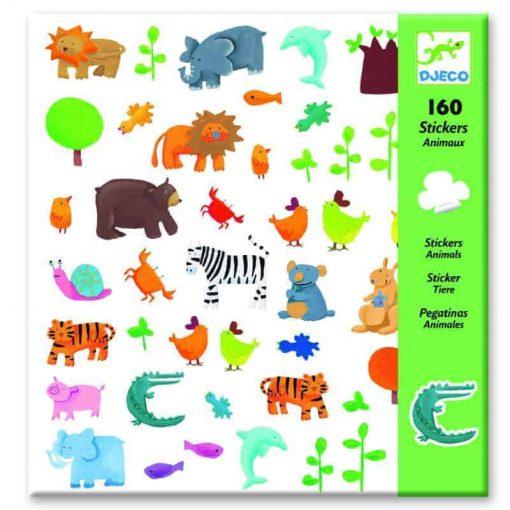 Schöne Sticker mit Tieren online kaufen.