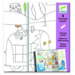 Geheimnisvolle Ausmalbilder für Kinder online kaufen.